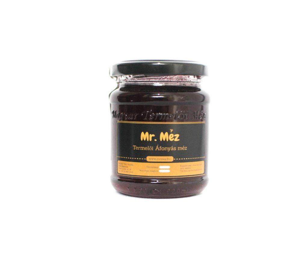 áfonyás méz