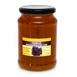 Termelői Galagonya-fűz méz