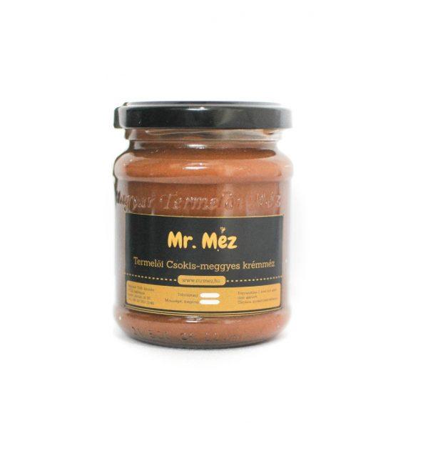 csokis-meggyes méz