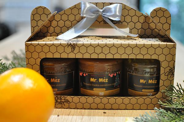 karácsonyi mézes csomag